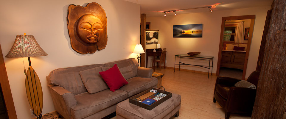 Relax in a Beachfront Suite or Cottage - Tofino Accommodation